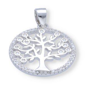Colgante circonita árbol de la vida