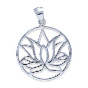 colgante flor de loto M