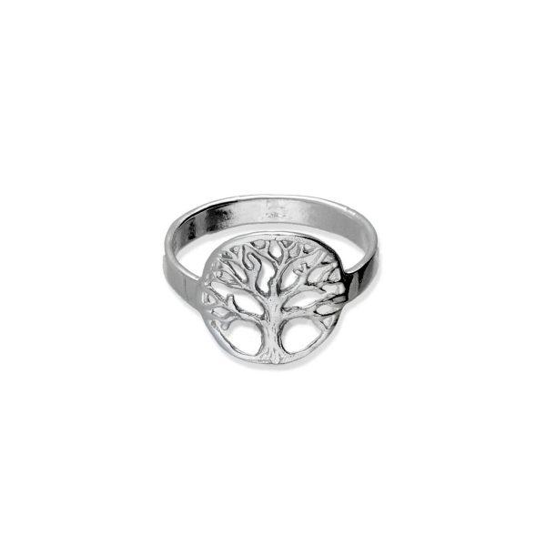 Anillo plata de ley 925 árbol de la vida