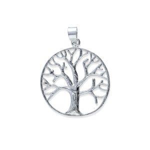 colgante con árbol de la vida