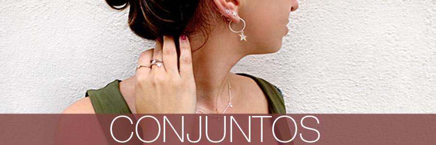 Los mejores conjuntos en plata. Compra online combinaciones únicas de pulseras, tobilleras, pendientes, anillos y mucho más